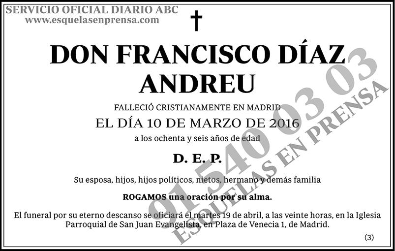 Francisco Díaz Andreu